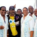 The Dynamic Superiors w/ Manager Wilber Fletcher &William Poogie of The Delfonics Hart in Atlantic City