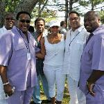 The Dynamic Superiors w/Manager Wilber Fletcher & Vannessa Jordan from The National R&B Music Society in Atlantic City